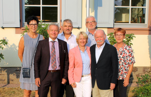v.l.n.r. Brigitte Gräbner, MdL Horst Arnold, Hans Dieter Herbert, MdL Martina Fehlner, Dr. Wolfgang Röder, Karl Amberg und Anita Peffgen-Dreikorn