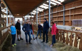 """Hier gibt´s nichts zu """"meckern"""", denn hier ist genügend Platz für die rund 160 Ziegen"""