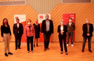 Der Vorstand des SPD-Unterbezirks
