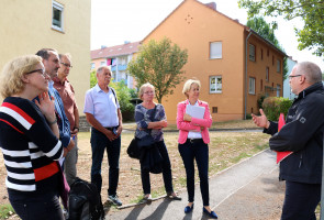 """Rundgang zum Thema """"Wohnen"""" in Aschaffenburg-Damm"""