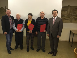 Mitgliederehrungen beim SPD-Ortsverein Aschaffenburg-Strietwald