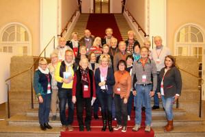 Mitglieder des Heimat- und Geschichtsvereins Aschaffenburg-Schweinheim