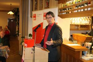 Wolfgang Jehn, der Vorsitzende der SPD-Kreistagsfraktion, skizzierte einige Aufgaben, welche der neue Kreistag und ein neuer Landrat dringend angehen müssen