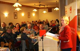 Die Landtagsabgeordnete Martina Fehlner verwies darauf, dass Stärke der BayernSPD immer in den Kommunen begründet war
