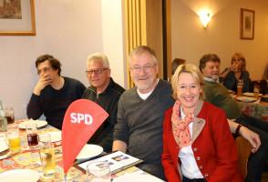 Auch der Ortsverein Laufach war vertreten