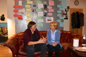 Im Gespräch mit Kerstin Günther, der neuen pädagogischen Leiterin von Radio Klangbrett