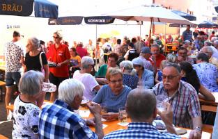 """Das """"Rote-Forelle-Fest"""" war auch in diesem Jahr wieder bestens besucht"""