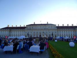 Bei herrlichem Sommerwetter fand im Garten des Neuen Schlosses Schleißheim der traditionelle Sommerempfang des Bayerischen Landtags statt.