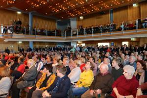 Begeisterte Zuhörerinnen und Zuhörer beim SPD-Neujahrsempfang 2019