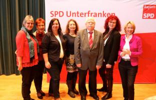 Delegation des Ortsvereins Kleinostheim