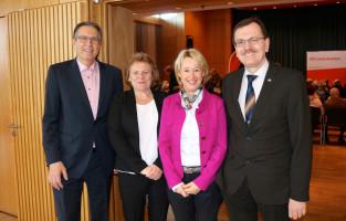 Auch zu Gast: der unterfränkische Polizeipräsident Gerhard Kallert mit Gattin
