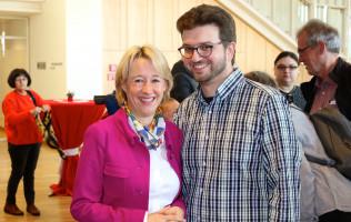 Robin Haseler, Vorsitzender SPD-Orstverein Weilbach