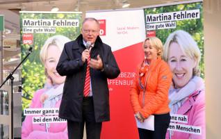 Wahlkampfunterstützung in Aschaffenburg