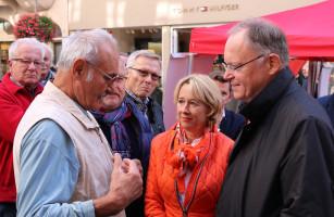 Gedankenaustausch mit Stephan Weil und Martina Fehlner
