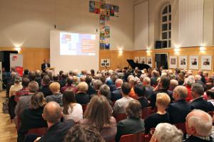 Der Bachsaal der Aschaffenburger Christuskirche war bis auf den letzten Platz gefüllt. Foto: Abgeordnetenbüro M. Fehlner