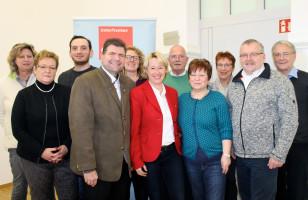 Die Delegierten des SPD-Unterbezirks Aschaffenburg