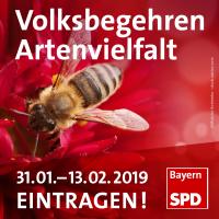 SPD unterstützt Volksbegehren Artenvielfalt