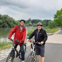 Wolfgang Jehn und Wolfgang Giegerich