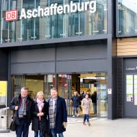 MdL Martina fehlner empfängt ihre Kollegen Volkmar Halbleib und Christian Flisek