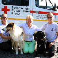Zu Besuch bei der Rettungshundestaffel Aschaffenburg