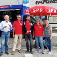 SPD Europa-Truck in Alzenau