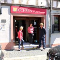 """MdL Martina Fehlner bei einem Informationsbesuch im Hotel """"Zum Goldenen Ochsen"""" in Aschaffenburg"""