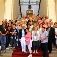 Besuchergruppe vom Bayerischen Untermain im Maximilianeum