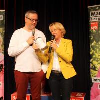 Martina Fehlner und Johannes Scherer