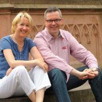 Johannes Scherer und Martina Fehlner MdL