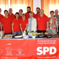 Spanferkelessen bei der SPD Mainaschaff mit MdL Martina Fehlner