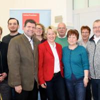 Die Delegierten des SPD-Unterbezirks Aschaffenburg bei der Wahlkreiskonferenz in Lohr