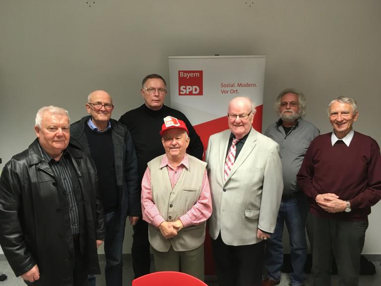 Der neue Vorstand der AG 60plus